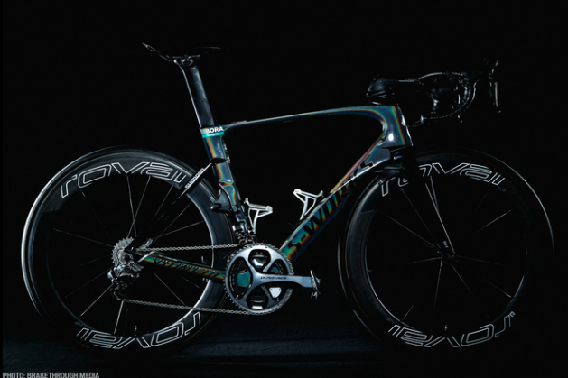 Peter Sagan world champion 2017 bike