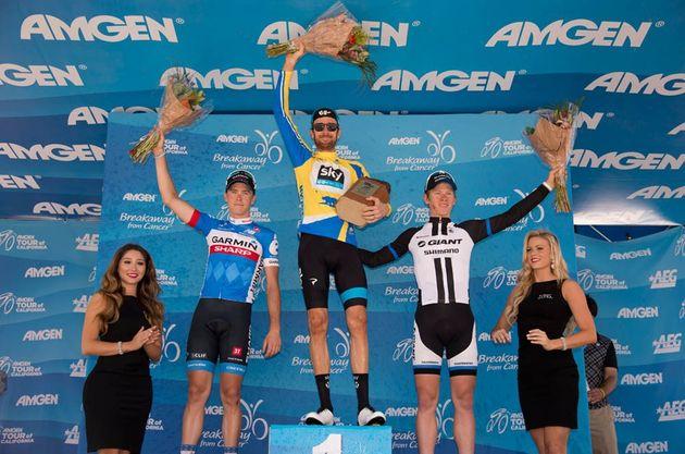 Bradley Wiggins wins Amgen Tour of California 2014