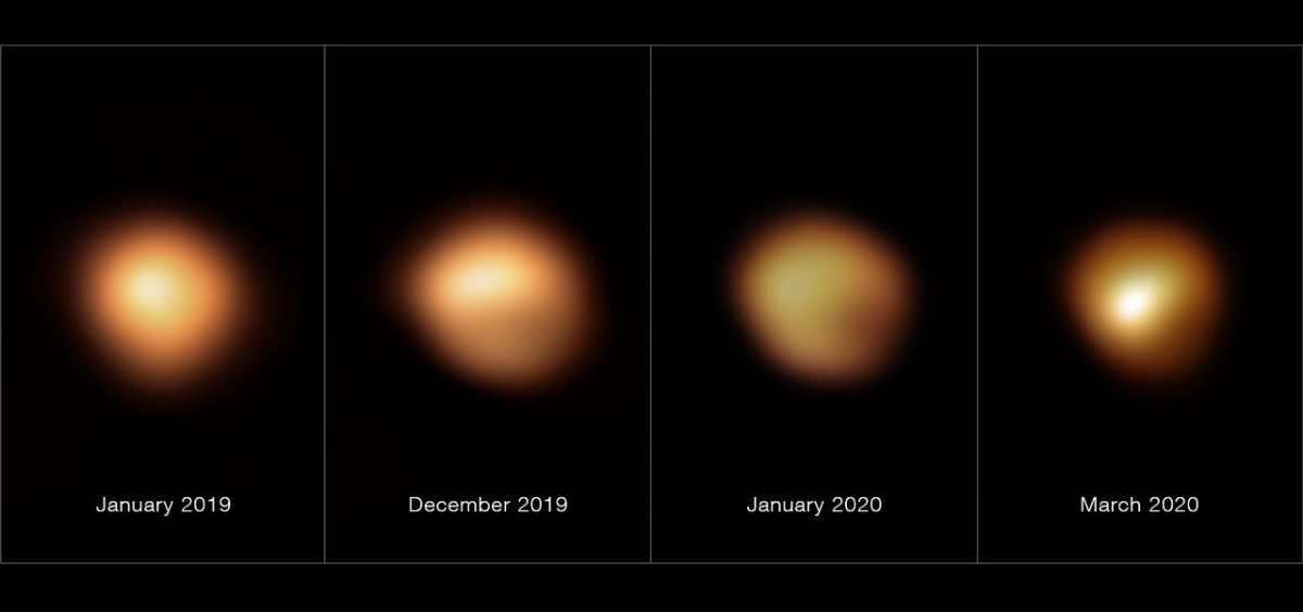 Mystery solved? Dust cloud caused Betelgeuse star's weird dimming, study finds