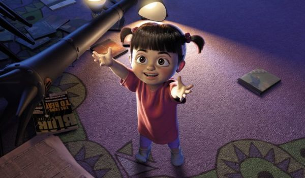 Boo in Monsters Inc
