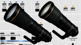 New Nikon Z lens roadmap teases with 600mm and 400mm supertelephotos