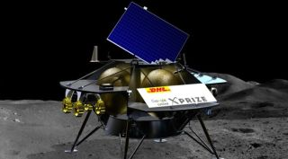 Illustration of Astrobotic's Peregrine lander