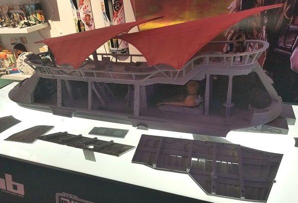 HasLab The Khetanna Toy Fair display on the table