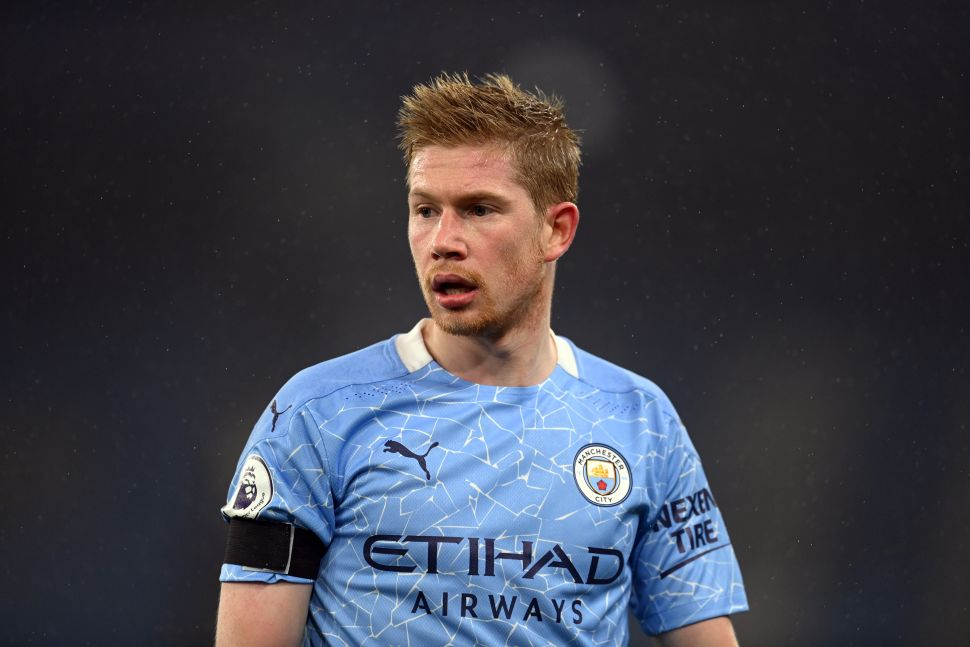 Kevin De Bruyne's Manchester City career in numbers ...