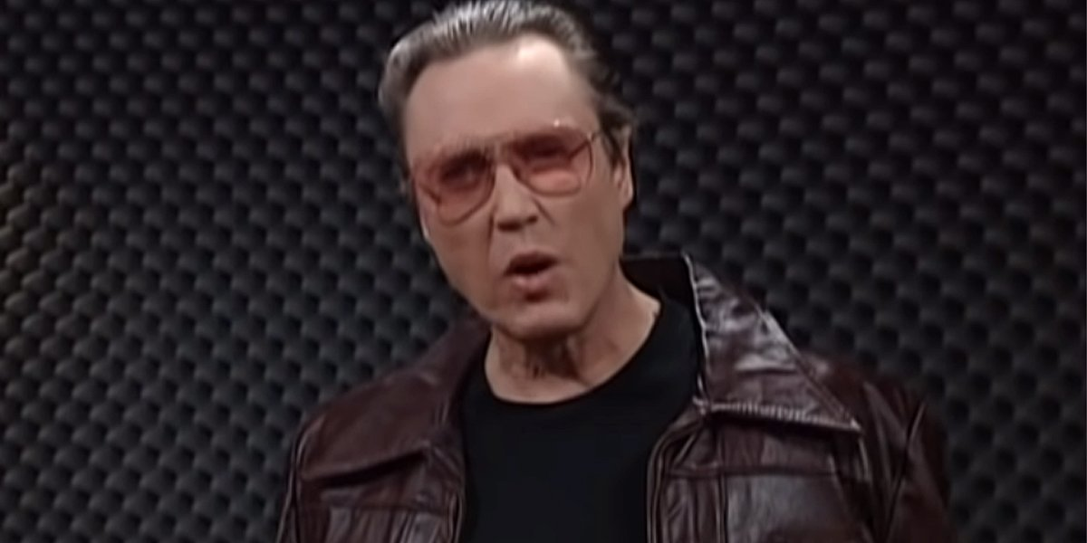 Christopher Walken in SNL More Cowbell sketch on NBC