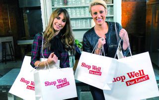 Alex Jones and Steph McGovern continue to show us how to shop for less