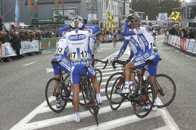 Scheldeprijs Vlaanderen 2008 Tom Boonen Mark Cavendish