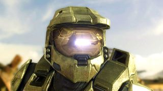 Halo series hero Master Chief looks over the horizon