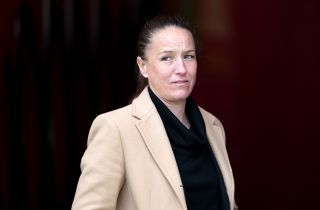 Casey Stoney has hit out at online abuse she has received following links with the Wrexham job