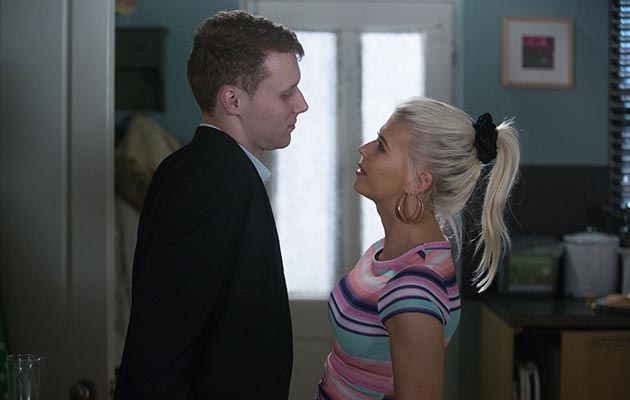 EastEnders Lola Pearce and Jay Mitchell