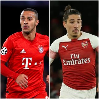 Alcantara Thiago and Hector Bellerin