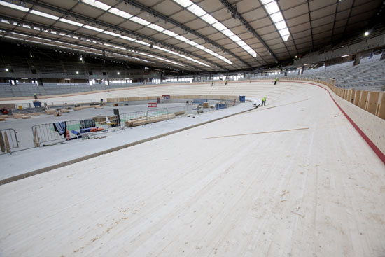 London 2012 Olympic Games velodrome, track