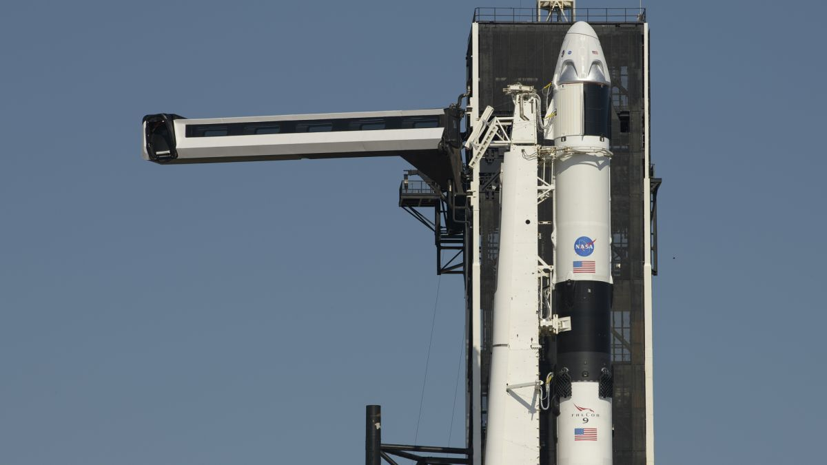 SpaceX Crew Dragon reaches launch pad for historic NASA astronaut launch