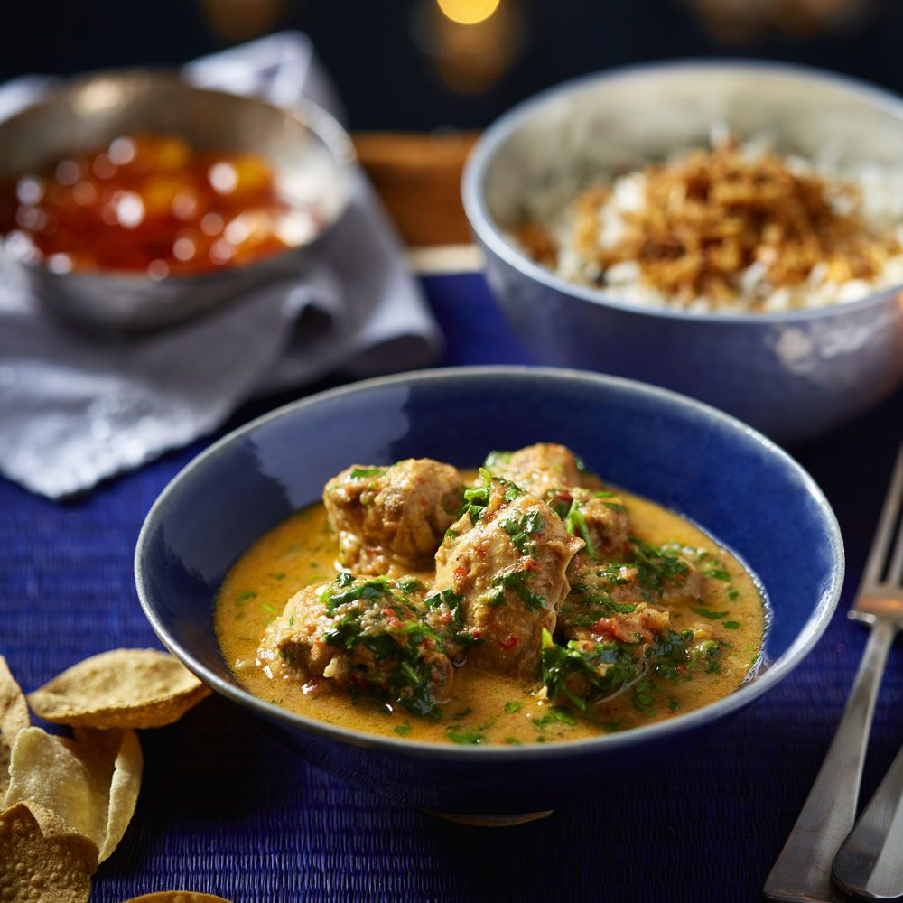 Try our mild chicken curry that's perfect if you're not a fan of spice