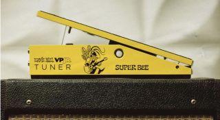 "Ernie Ball's new VPJR Tuner ""Super Bee"" pedal"