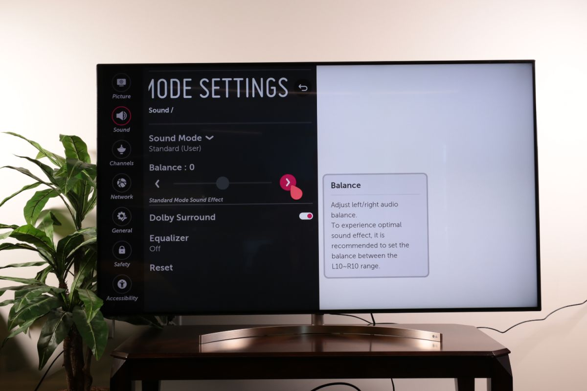 How to adjust the audio settings on your LG TV - LG TV Settings