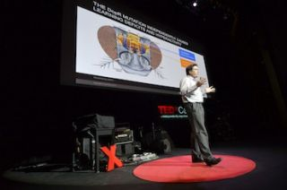 Vista Systems Spyder Goes Inside the Brain at TEDx Caltech