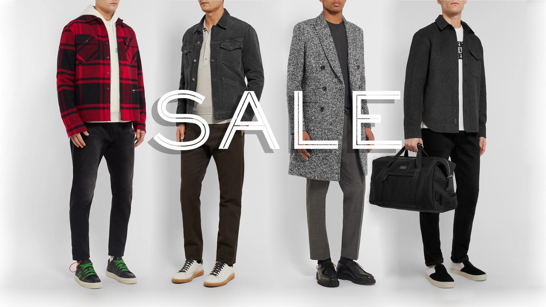 02604f4da Mr Porter sale: 50% off designer clothing, accessories, and footwear ...