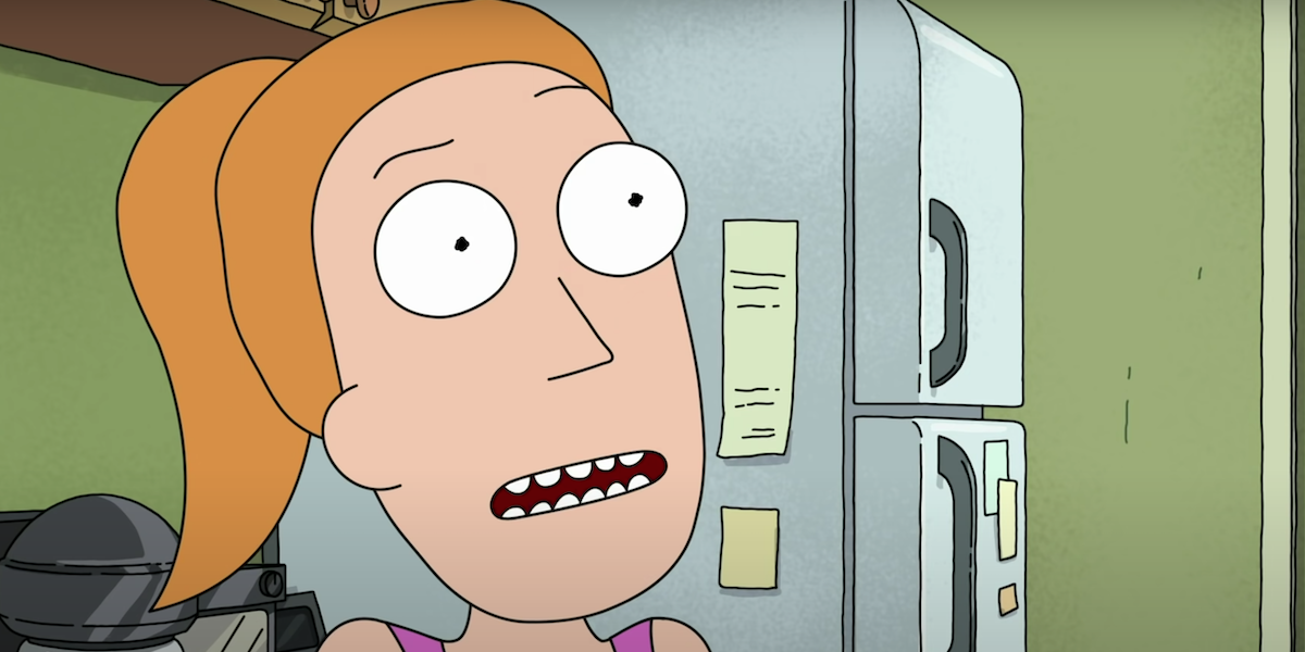 summer smith rick and morty season 4 bechdel test