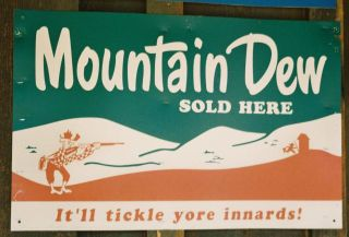 1950s Mountain Dew ad in Jakes Corner, Ariz.