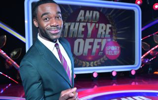 Former Strictly champ Ore Oduba leaves the nifty footwork to other celebs as they slip and slide their way round an obstacle course in this six-part series leading up to Sport Relief 2018.