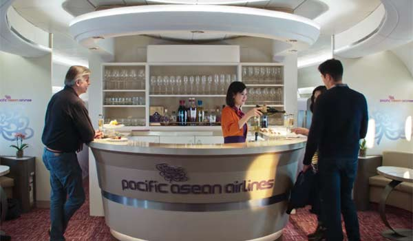 rachel on airplane in crazy rich asians