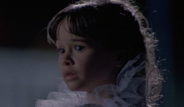 Halloween IV: The Return of Michael Myers Danielle Harris Jamie Lloyd stares out frightened