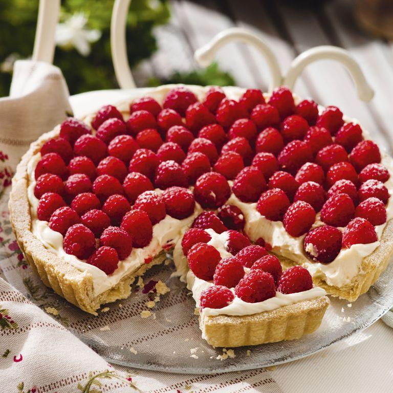 Lemon and Raspberry Tart - Easy desserts - summer recipes - woman&home July 2013