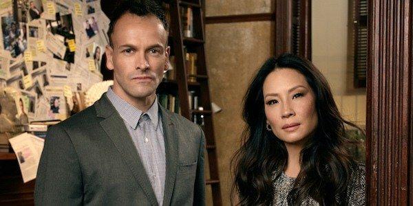 Holmes and Watson Jonny Lee Miller Lucy Liu Elementary CBS