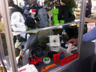 3D-Printed Objects at Maker Faire