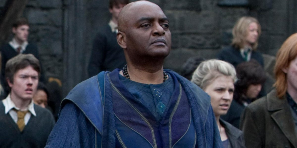 Kingsley in Harry Potter and the Deathly Hallows: Part 2.