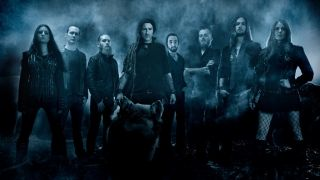Eluveitie pictured with Merlin Sutter, Anna Murphy and Ivo Henzi