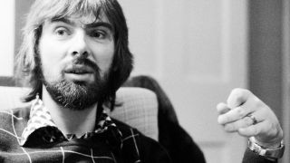 Glyn Johns at home in London, 1972