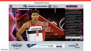 Washington Wizards Virtual Gameday