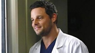 Justin Chambers as Dr. Alex Karev in Grey's Anatomy.