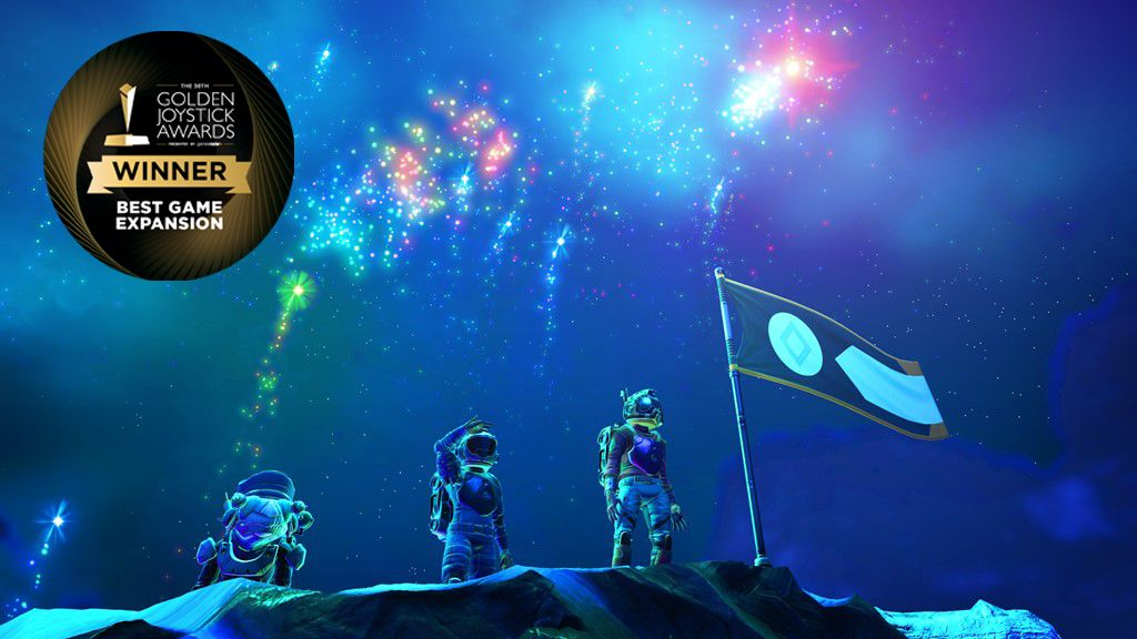 No Man's Sky: Origins flies to the top as the winner of the best game expansion at the Golden Joystick Awards 2020