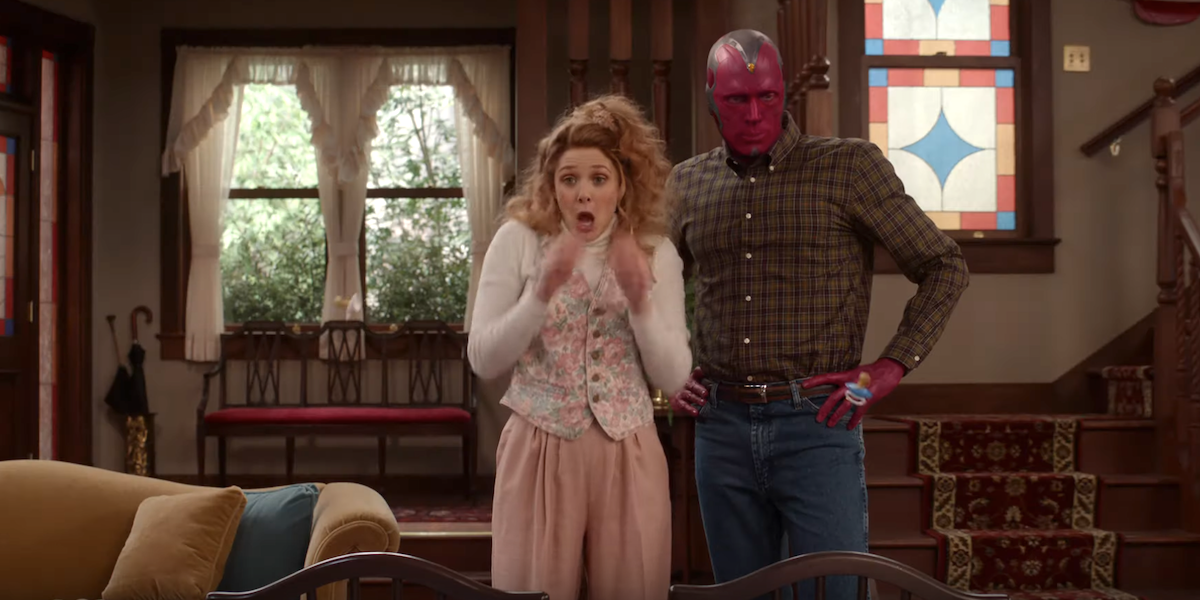 Why The 'Wacky' WandaVision Is Perfect For Marvel's First Sitcom, According To Kevin Feige