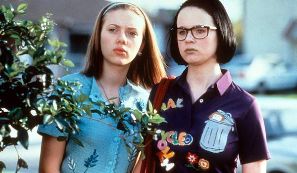 Scarlett Johansson and Thora Birch in Ghost World