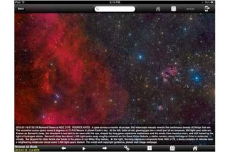 Stunning Visuals Star in NASA Space Exploration App