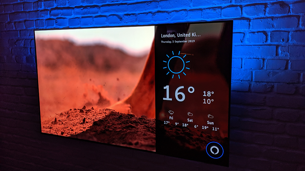 Philips' OLED 754 is a budget OLED with Alexa built in