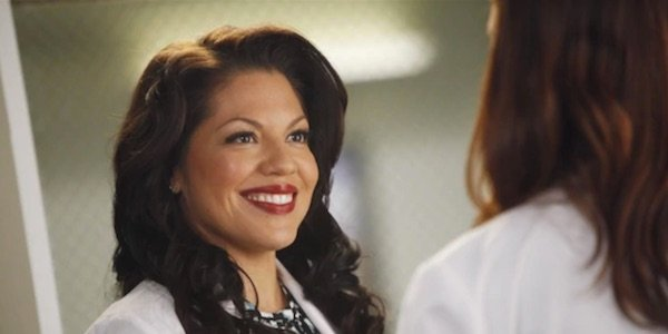 Callie Torres late into her run on Grey's