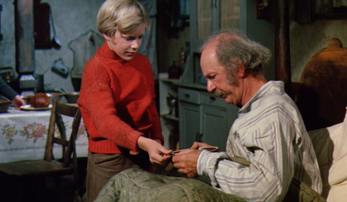 Charlie give Grandpa Joe money for tobacco a pipe a day
