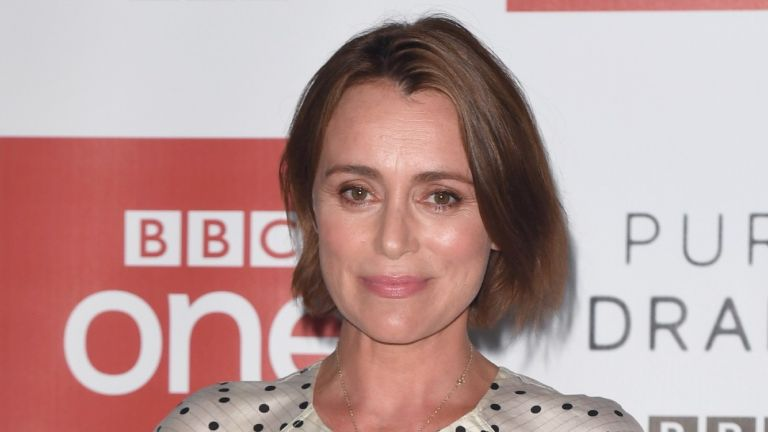 Keeley Hawes on the red carpet