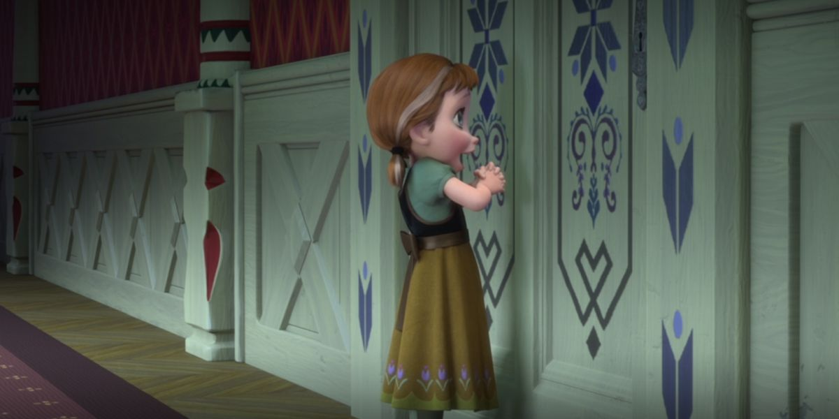 Young Anna in Frozen