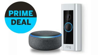 Ring Video Doorbell Pro plus Echo Dot (3rd Gen)