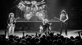 Black Sabbath perform live in 1980