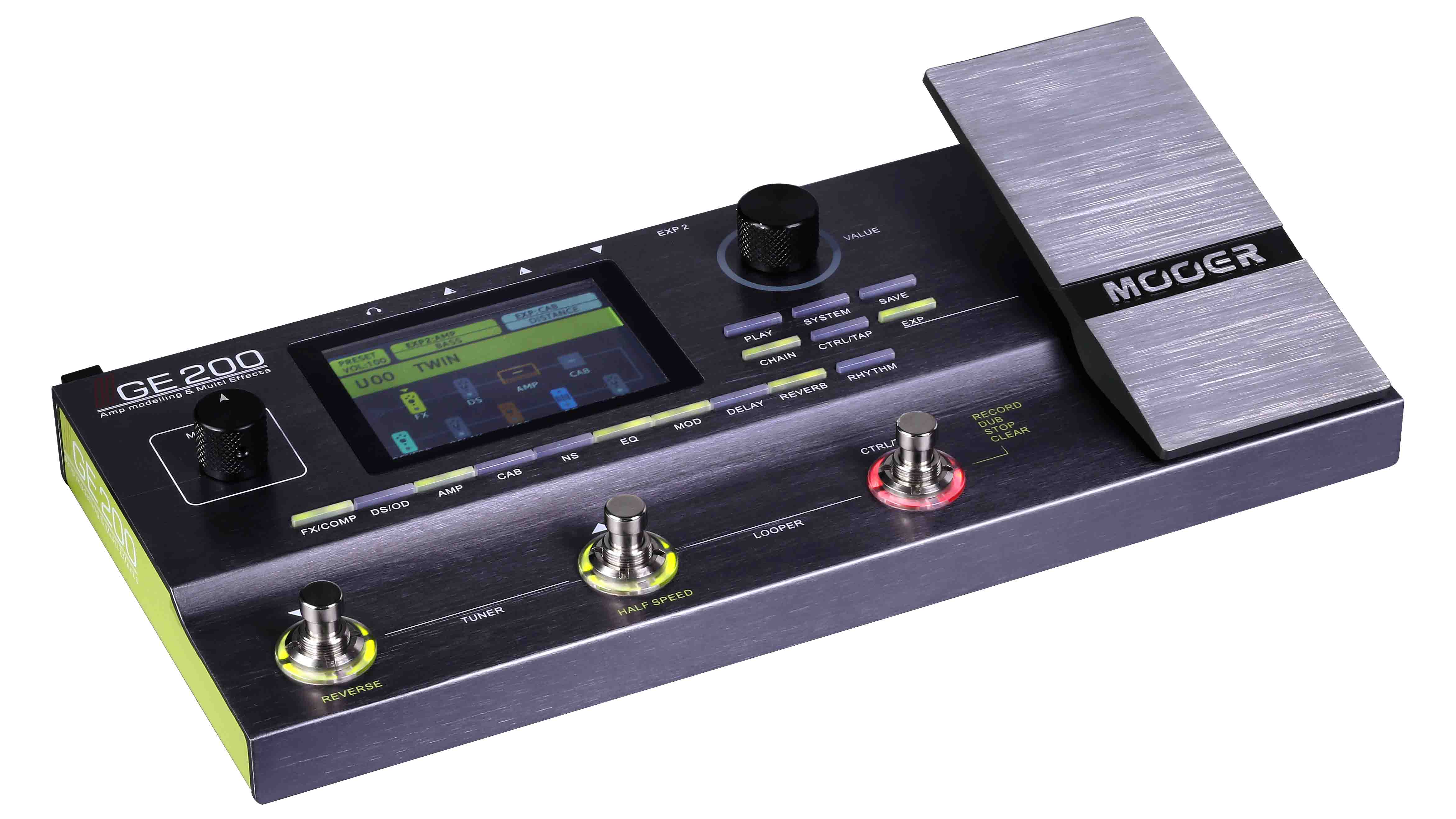 """Mooer's GE200 multi-effects pedal promises """"unparalleled amp"""
