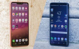 LG G7 ThinQ vs  Samsung Galaxy S9: Which Android Flagship