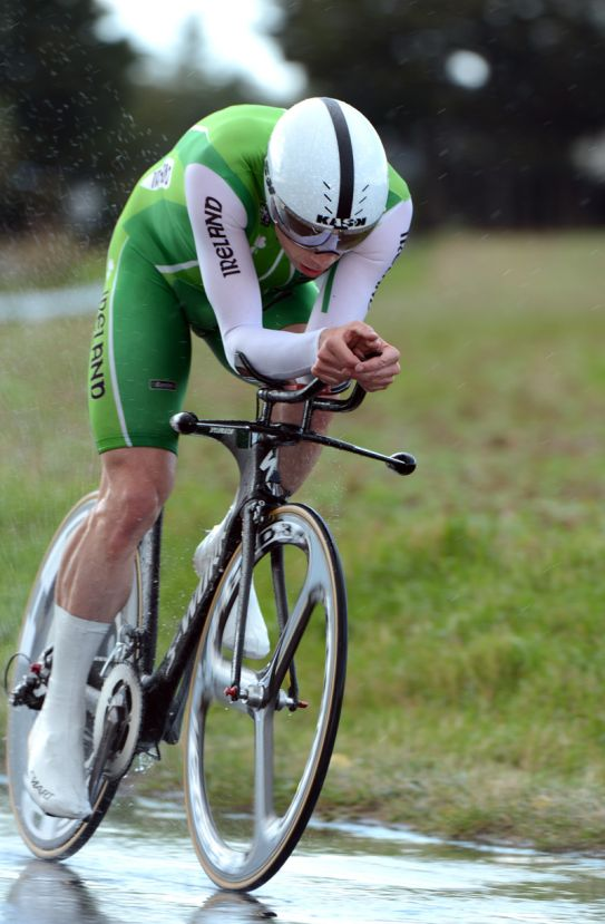Michael Hutchinson, Men's time trial, Road World Championships 2012