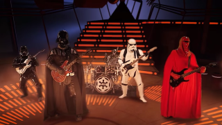 A still from the Galactic Empire video